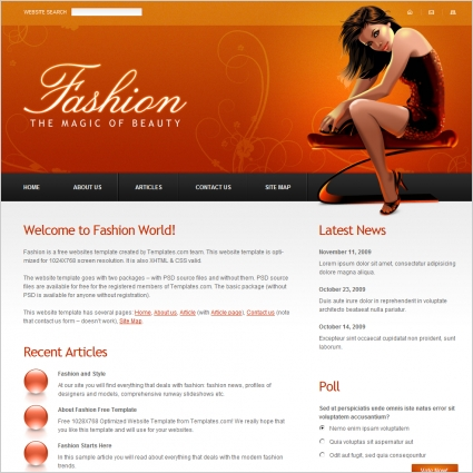 Fashion Template