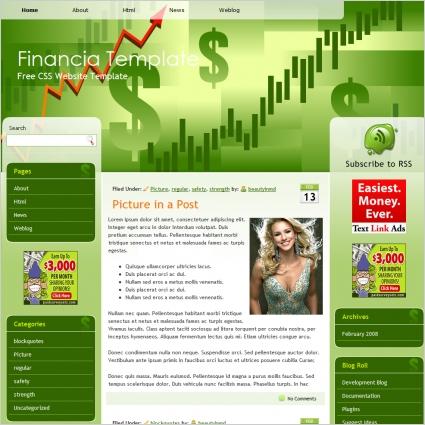 Financia Template