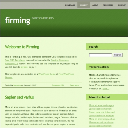 firming
