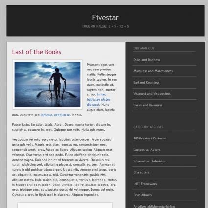 Fivestar Template