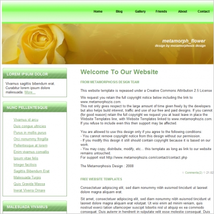 Website Template from Amazon Code Tech