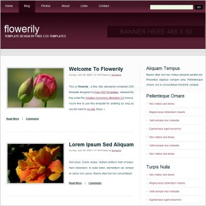 flowerily