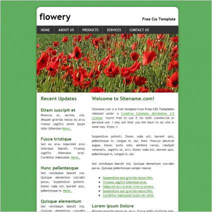 flowery Template