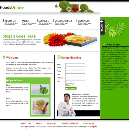 FoodsOnline Template