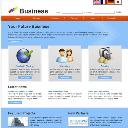 Future Business Template