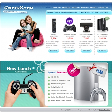 Dota 2 website template free download gaming html template at a.
