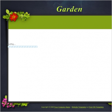 garden free website templates in css html js format for