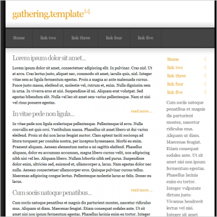 Gathering 14 Template