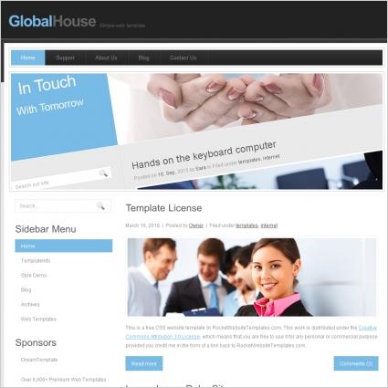 Global House Template