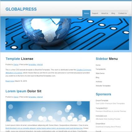 Global Press Template