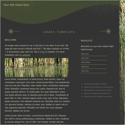 Grass Template