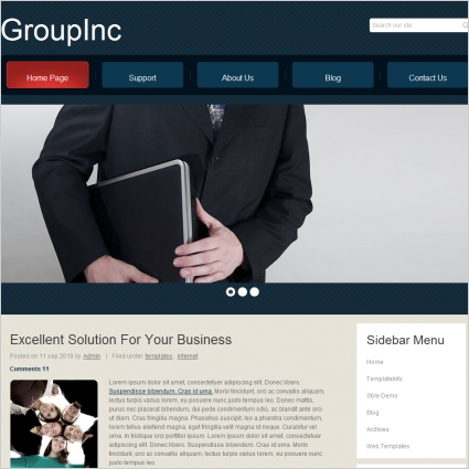 Group Inc Template