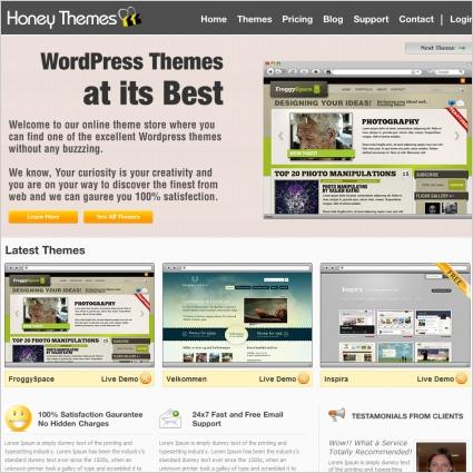 HoneyThemes Template