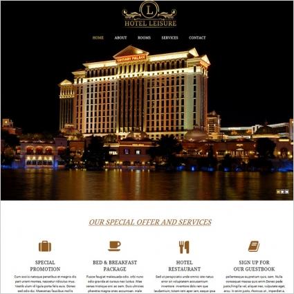hotel casino template