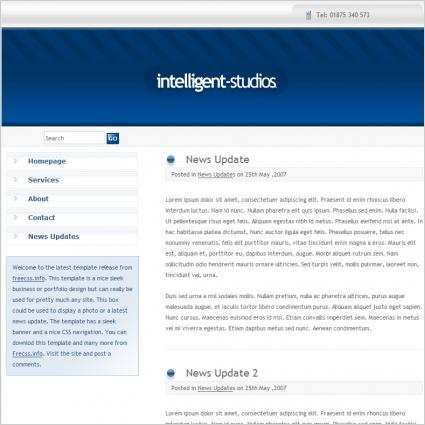 Intelligent Studios Template