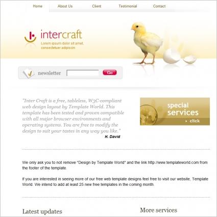 Intercraft Template