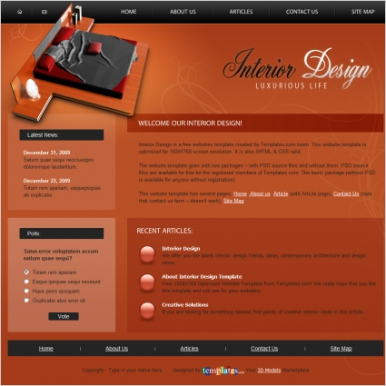 Interior Design Template