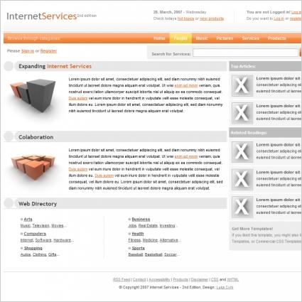 Internet Services v2 Template