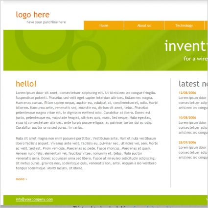 Inventions Template
