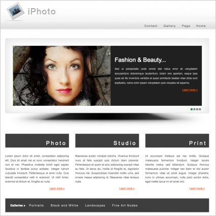 iPhoto Template