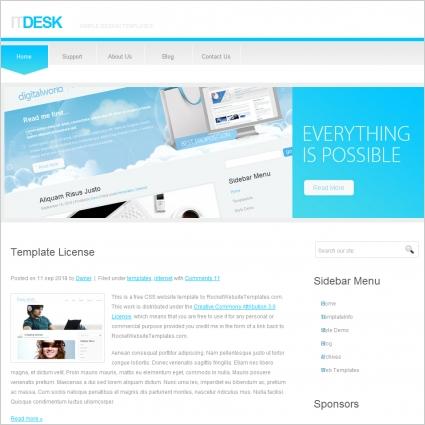 ITDesk Template