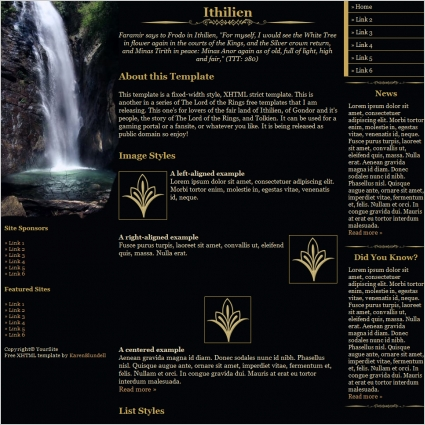Ithilien Template