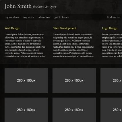 John Smith Template
