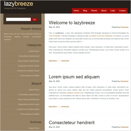 lazy breeze