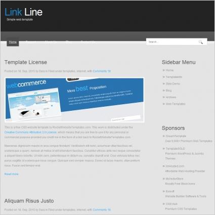 Link Line Template