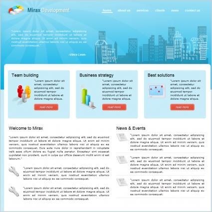 Mirax Development Template