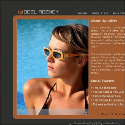 Model Agency Template