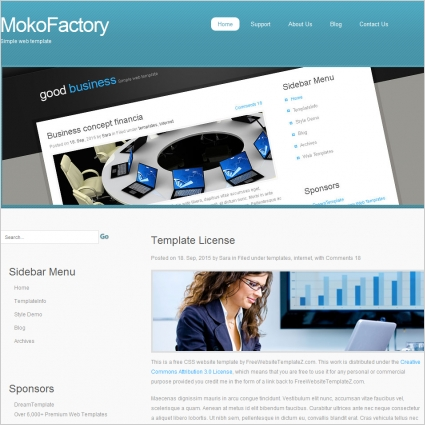 Moko Factory Template