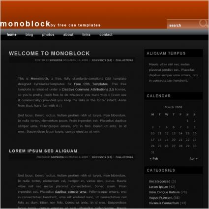 mono block