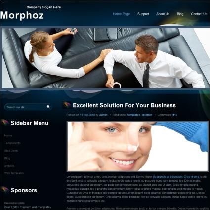 Morphoz Template