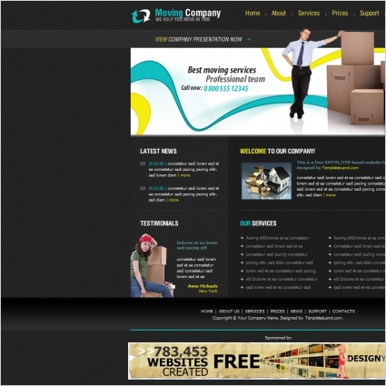Moving Company Template