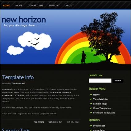 New Horizon Template
