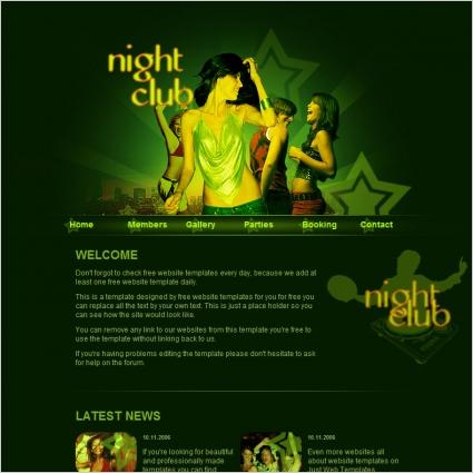 Night Club Template