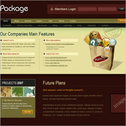 Package Template