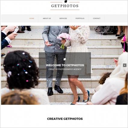 photo portfolio template