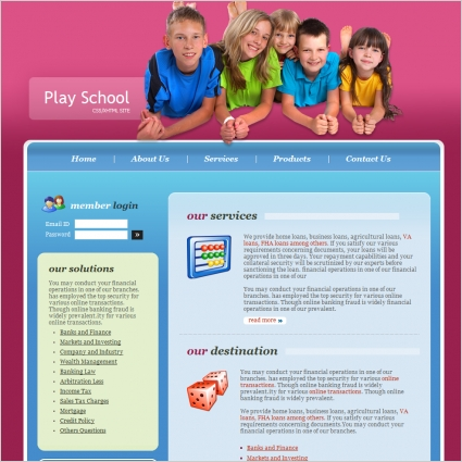 Education website templates free download html5 with css html.