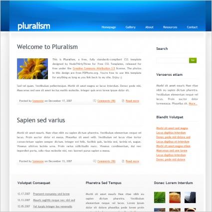 Pluralism Template