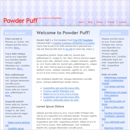 powder puff