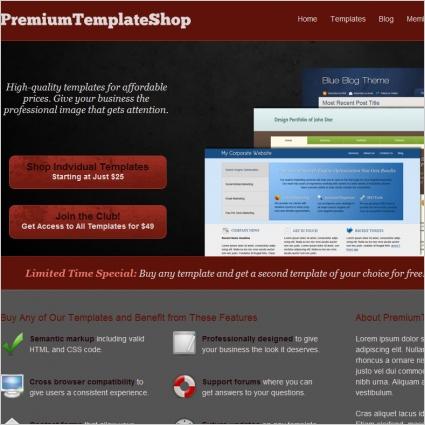 PremiumTemplateShop Template