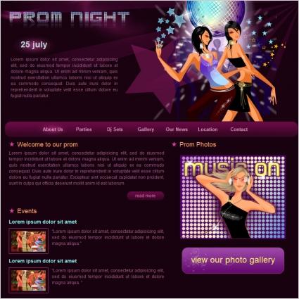 Prom Night Template