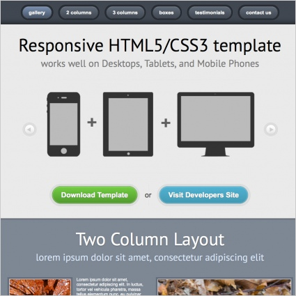 Responsive Template Free website templates in css, html, js format ...