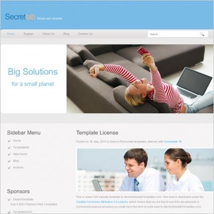 Secretlab Template