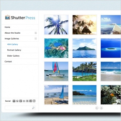 ShutterPress Template Free website templates in css, html, js format ...