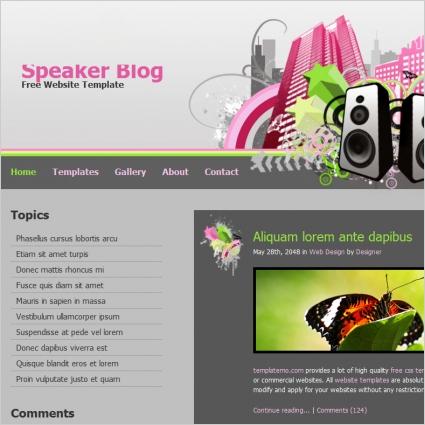 speaker blog