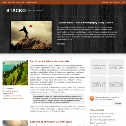 Stacko Template