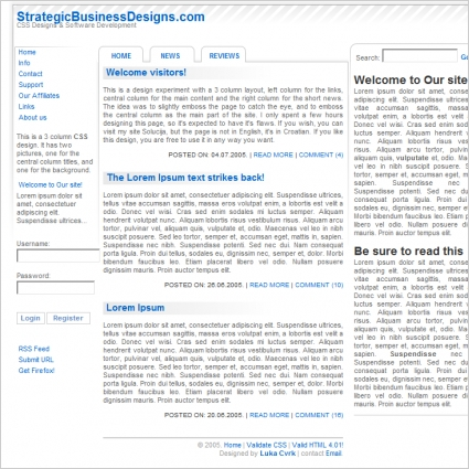 Strategic Business Designs Template